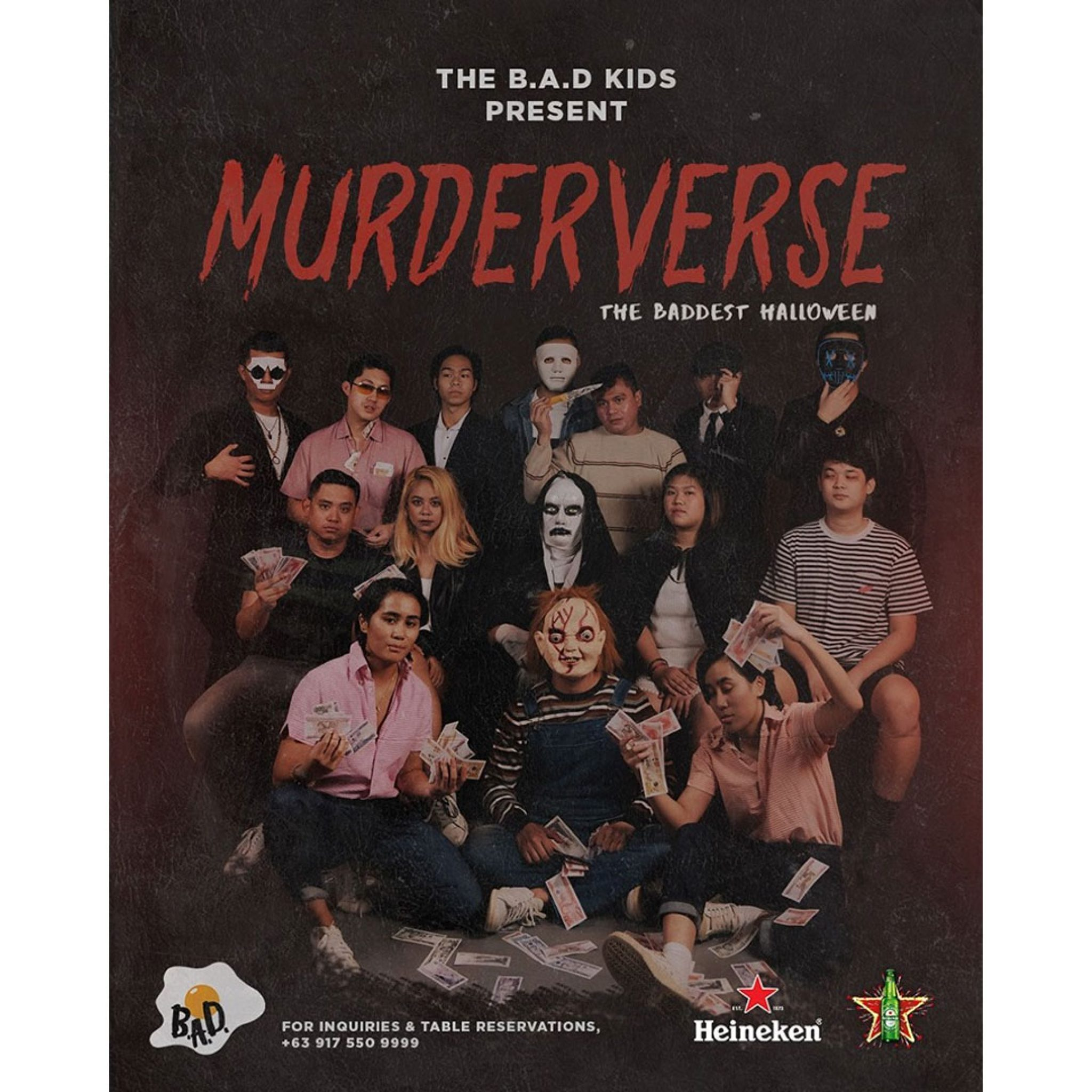 BAD's Murderverse: The Baddest Halloween