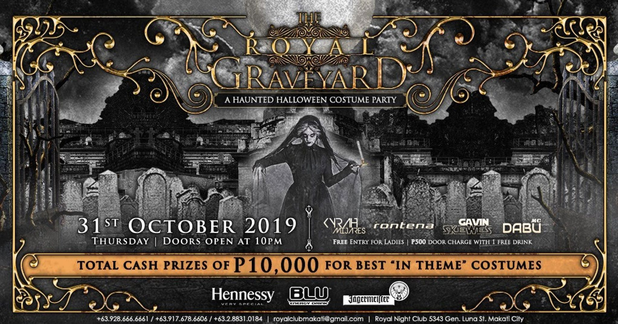 The Royal Graveyard Halloween Party