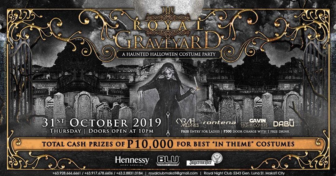 The Royal Graveyard Halloween Party