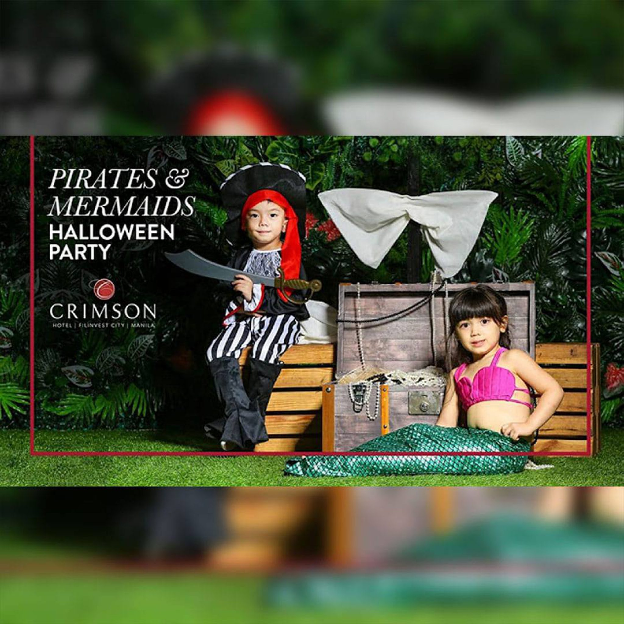 Crimson Hotel: Pirates and Mermaid Halloween Party