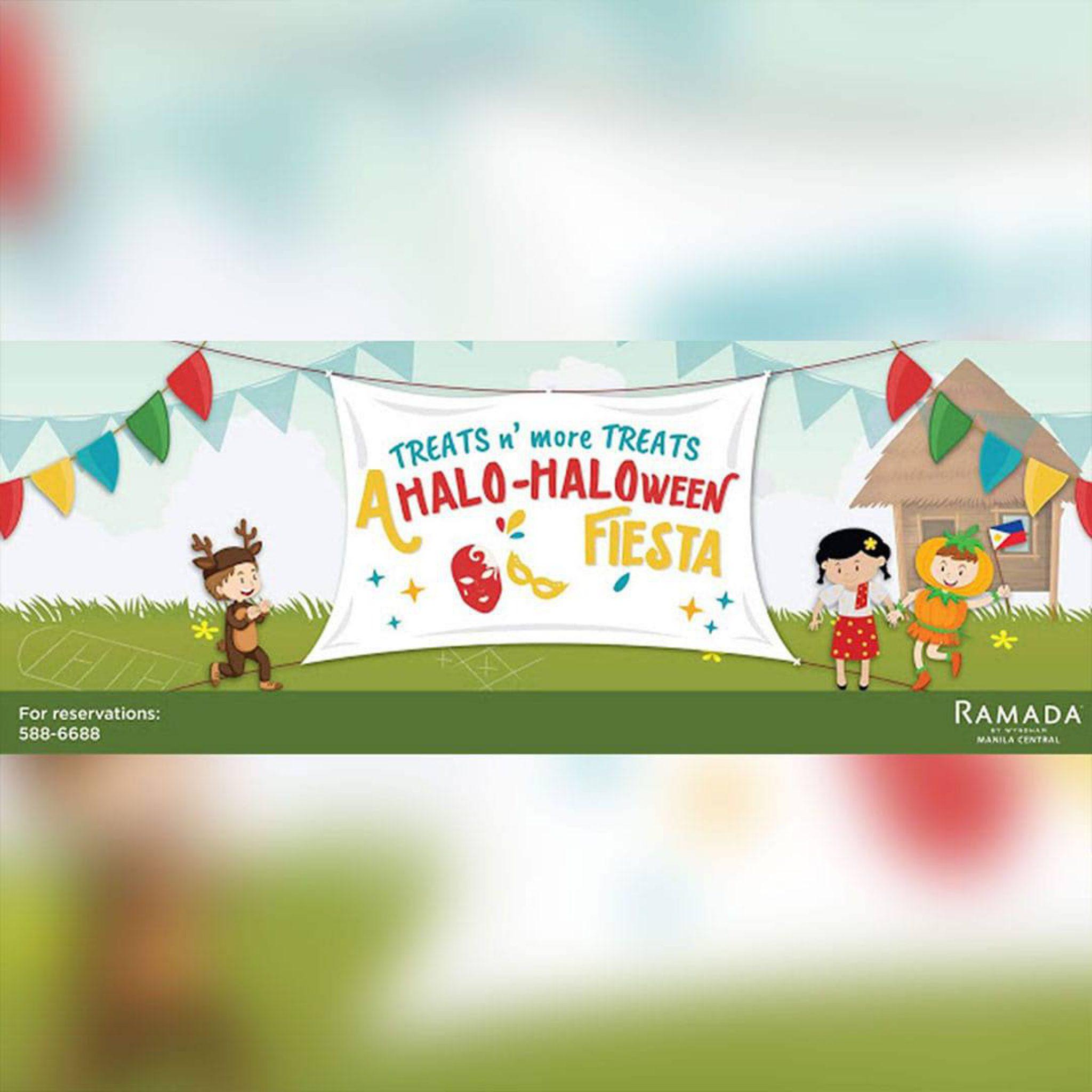 Ramada Manila: HALO-HALOween Fiesta