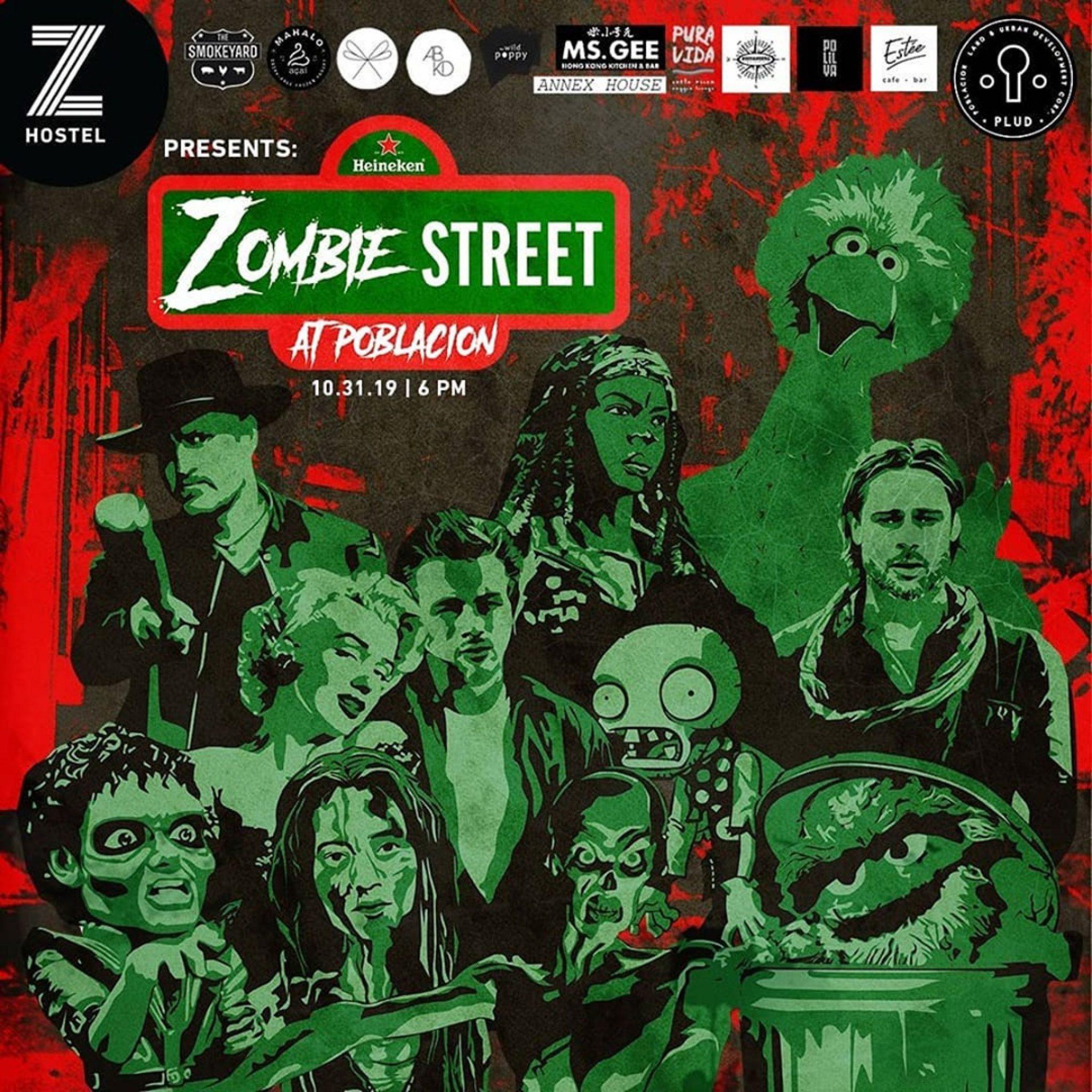 Zombie Street at Poblacion