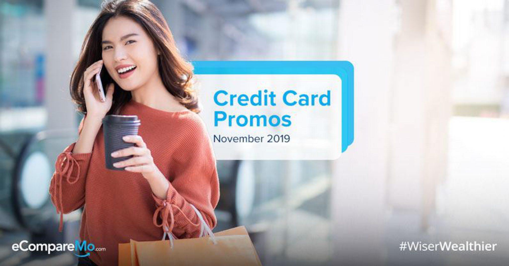 Credit Card Promo November 2019