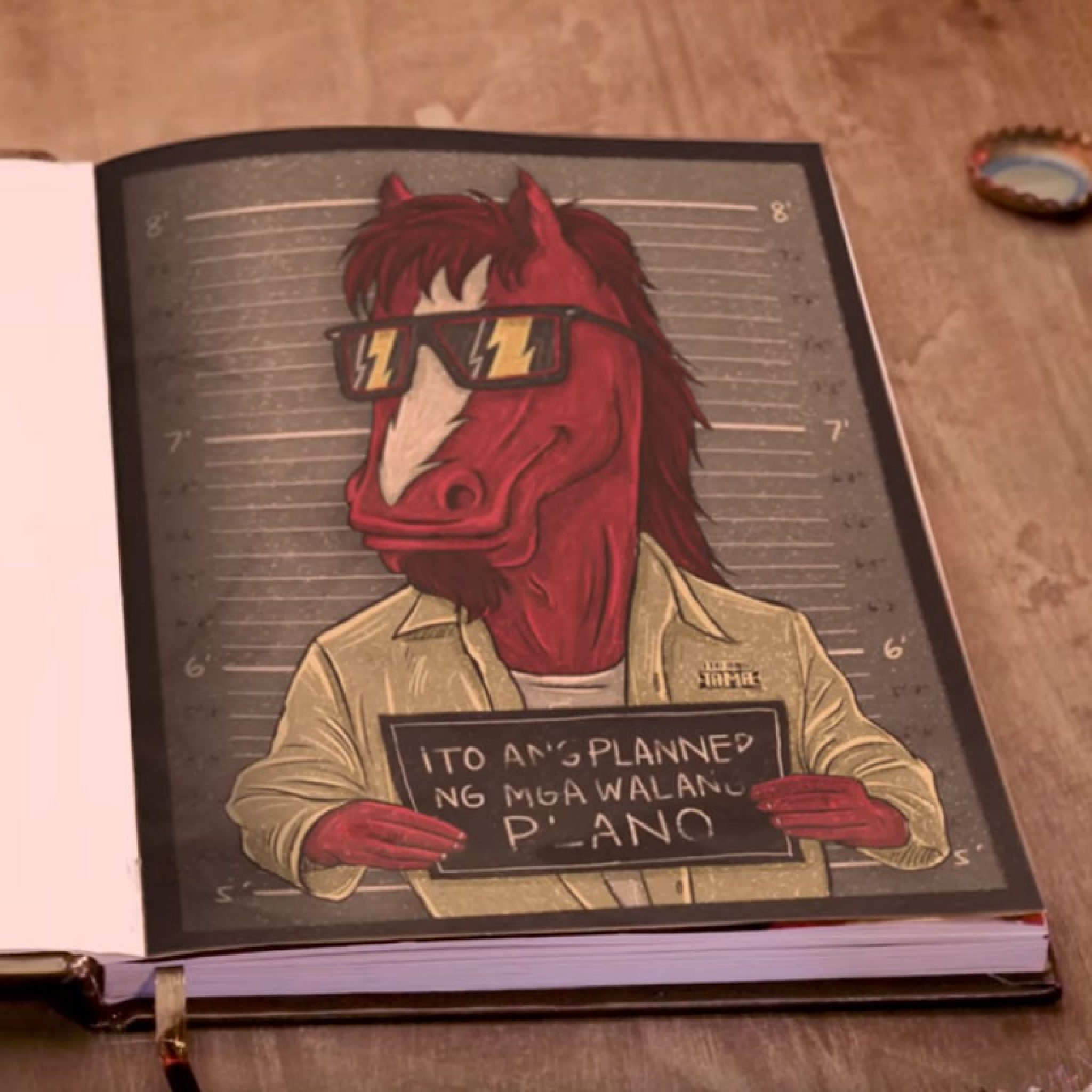 Red Horse Planner 2020