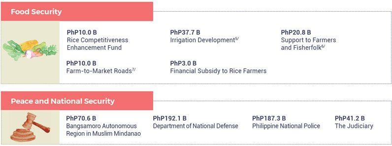 Philippine National Budget 2020