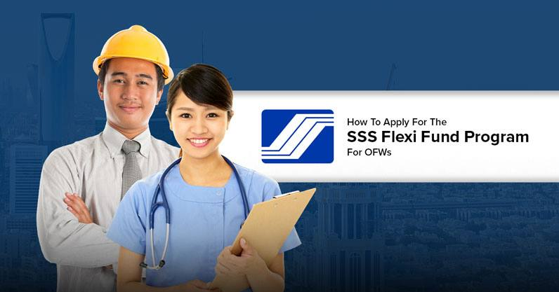 How To Apply For The SSS Flexi Fund Program For OFWs
