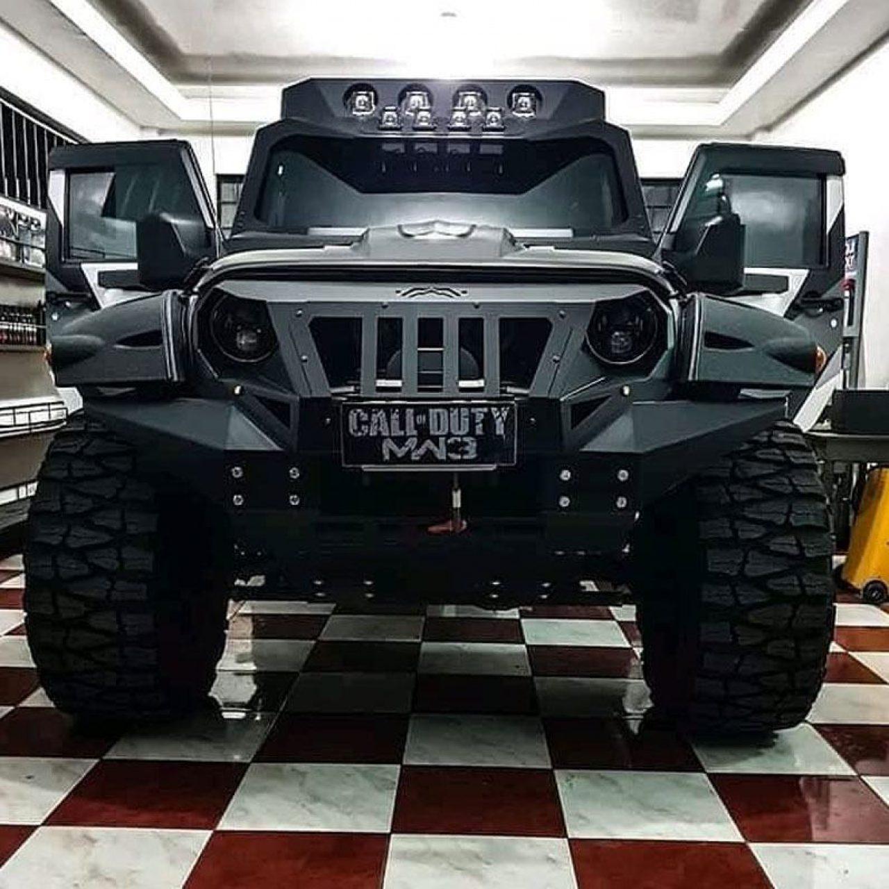 Coco martin Jeep Wrangler MW3