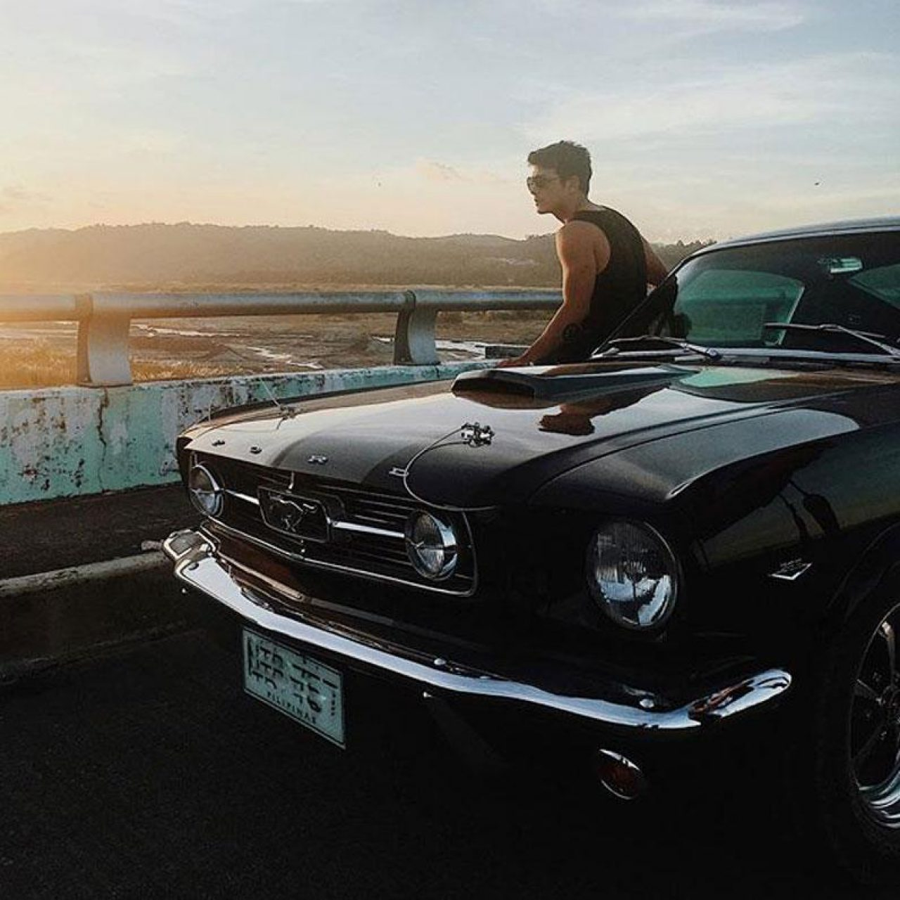 Jericho Rosales Ford Mustang