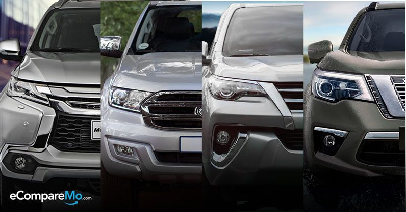 Top SUVs In The Philippines