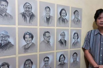 Drawing The Frontline: Pinoy Artist Pays Tribute To Fallen Frontliners Through Sketches