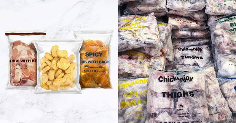 McDo Jollibee frozen food products