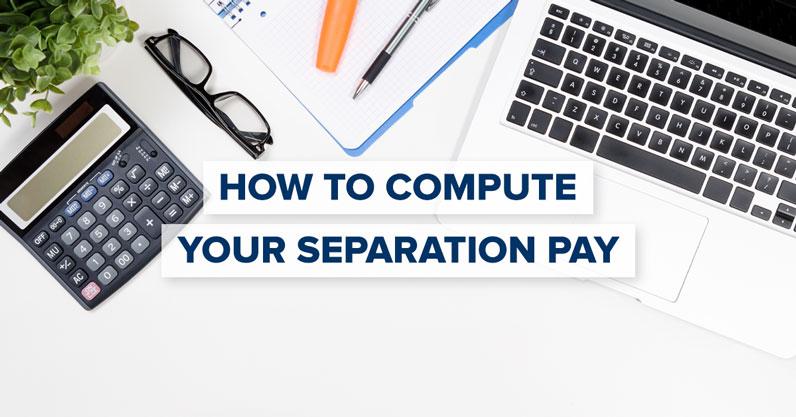 Separation Pay Computation