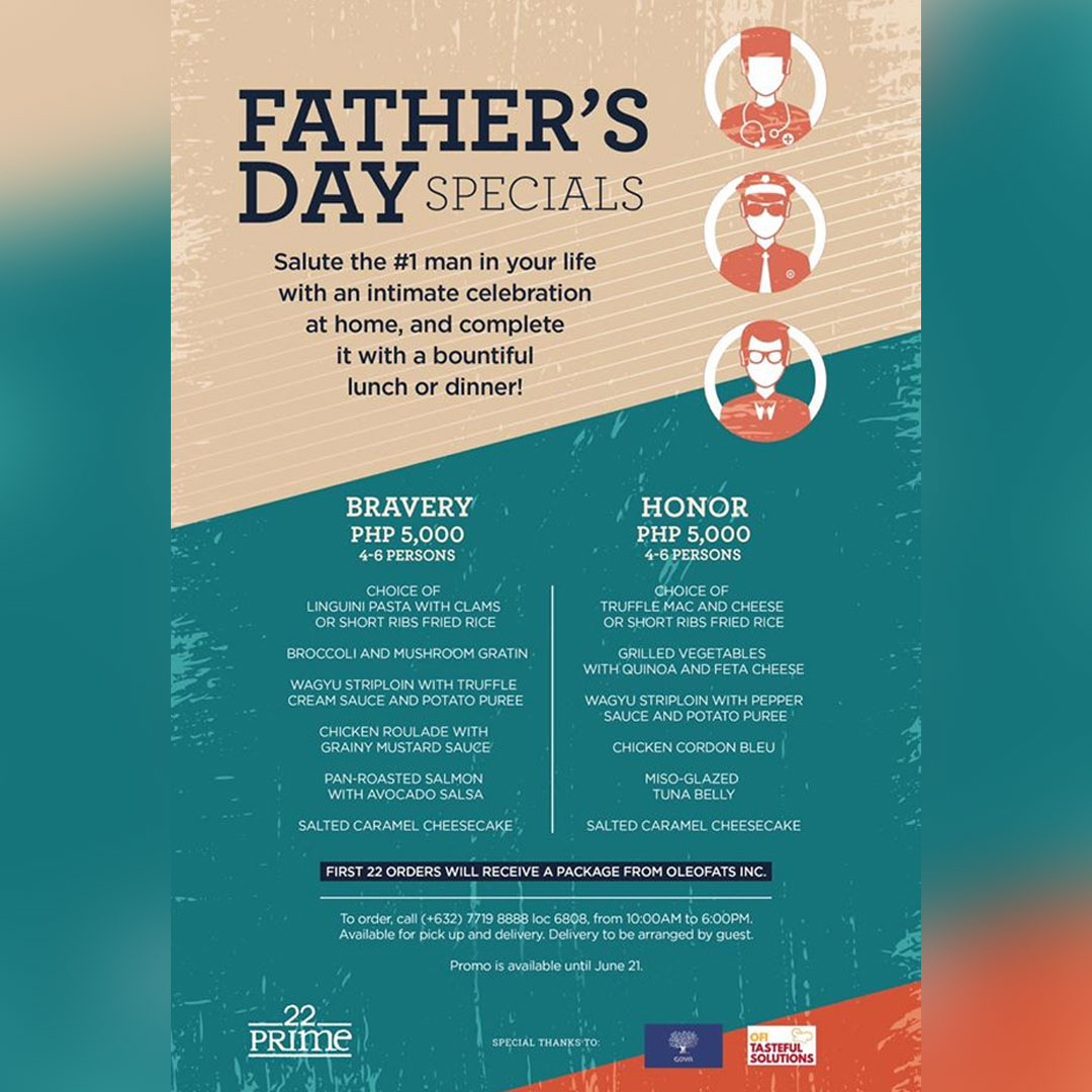 22 Prime Discovery Suites Father's Day promo 2020