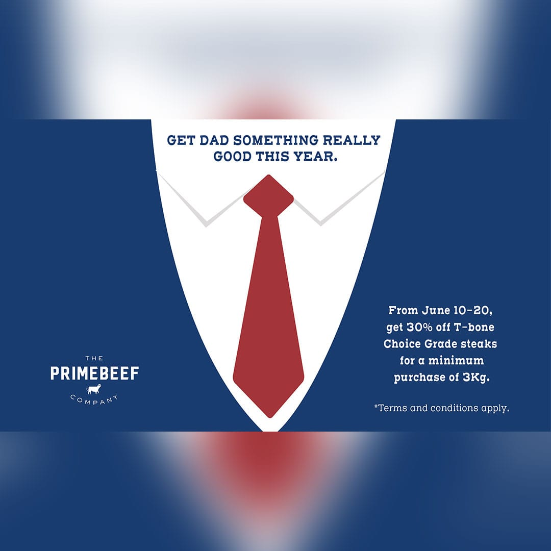 Primebeef Father's Day promo 2020