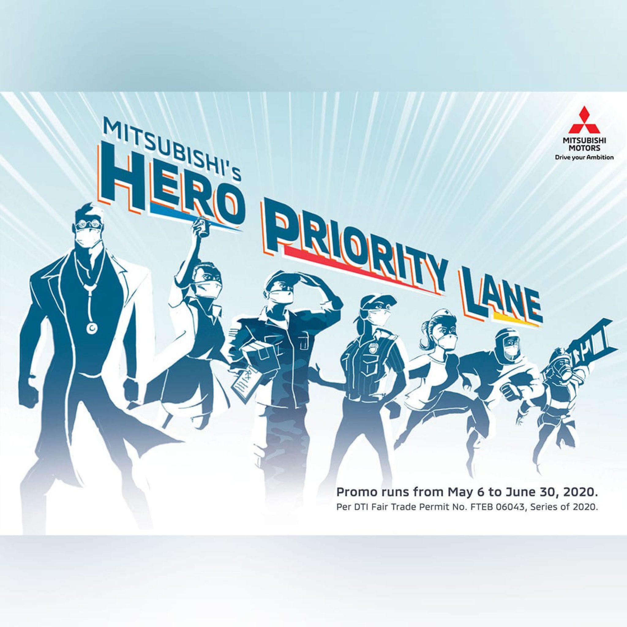 Mitsubishi Hero Priority Lane