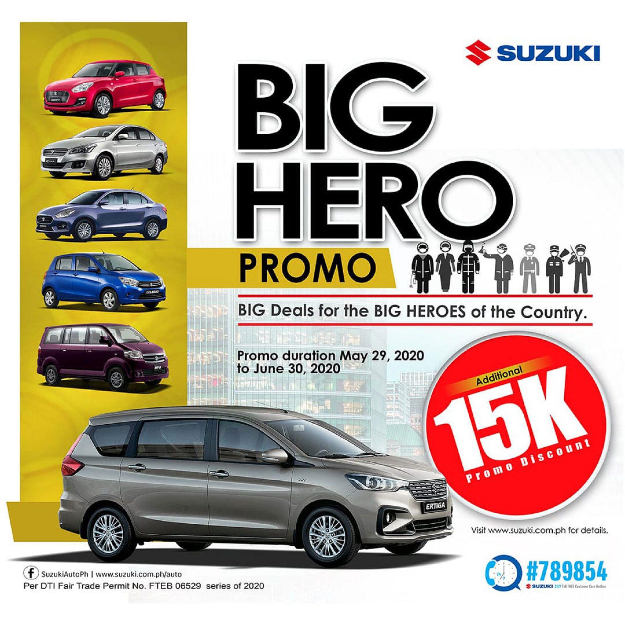 Suzuki Big Hero promo