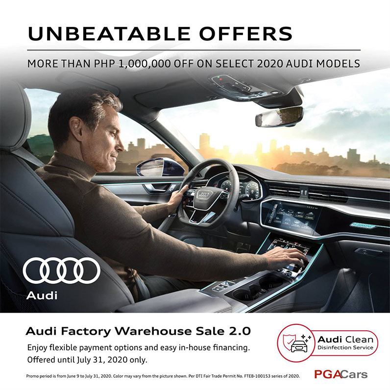 Audi Factory Warehouse Sale