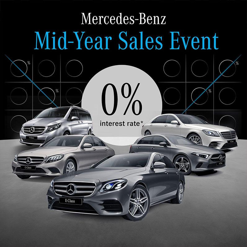 Mercedes-Benz Mid-Year Sales Event