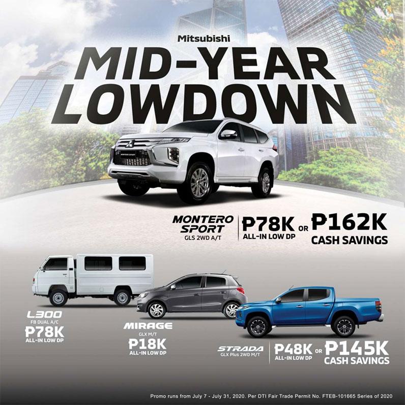 Mitsubishi Mid-Year Lowdown