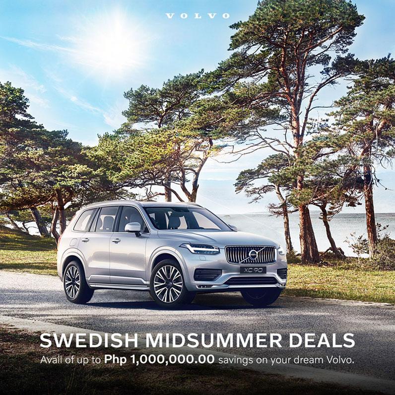 Volvo midsummer deal