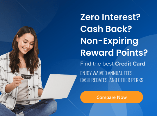 Zero interest and non expiring credit card rewards