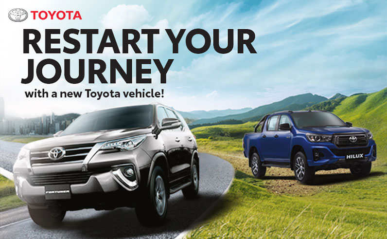 Toyota Restart Your Journey