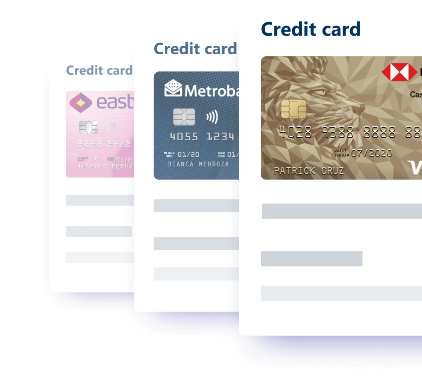 Credit card finder makes it easy and quick to find