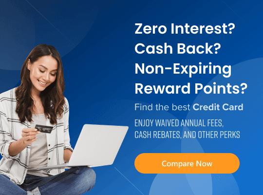 Zero interest and non expiring credit card rewards