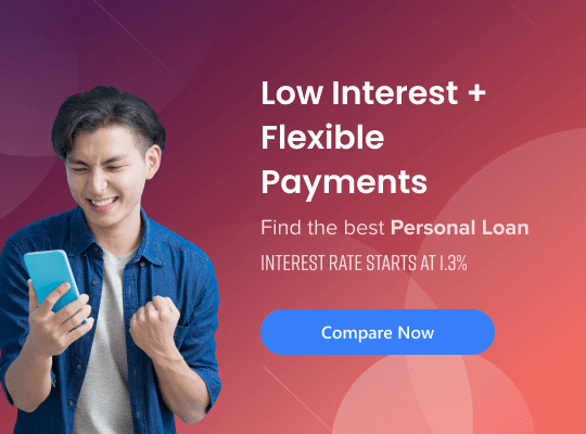 Low interest and flexible repayments personal loan