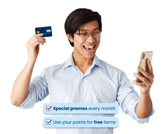 Promotions credit card in the Philippines