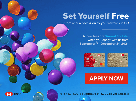 HSBC Free For Life credit card